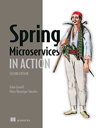 Spring Microservices in Action, 2nd Edition Front Cover