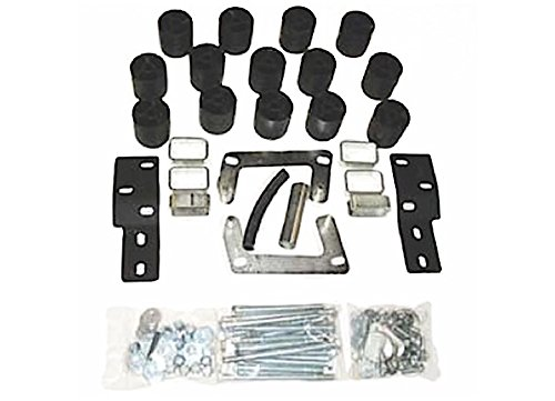 Performance Accessories, Ford Ranger Splash/Edge (Manual Trans Requires 3700) 3' Body Lift Kit, fits 1998 to 2000, PA883, Made in America