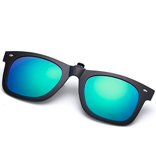 Ruanyi Clips para Gafas de Sol para Adultos, Clip polarizado para visión...