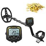 VISLONE TX850 Detector de metales LCD de 9,4 pulgadas de alta sensibilidad al aire libre subterráneo buscador de tesoros cazador de oro buscador de pepitas doradas
