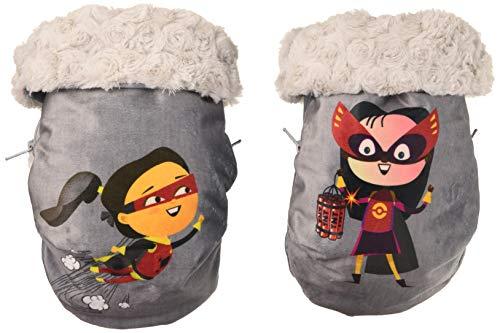 Babyline handschoenen voor kinderwagen, helden voor meisjes en jongens, bescherming tegen wind en water