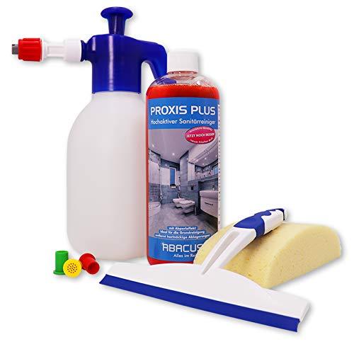 ABACUS FOAM MASTER 1,8 L Schaumsprüher (7458) 1x 1000 ml PROXIS PLUS Sanitärreiniger & Zubehör Pumpsprüher Schaumsprühgerät Reinigungsmittelschäumer Schäumer Aufschäumer SET - ABACUS