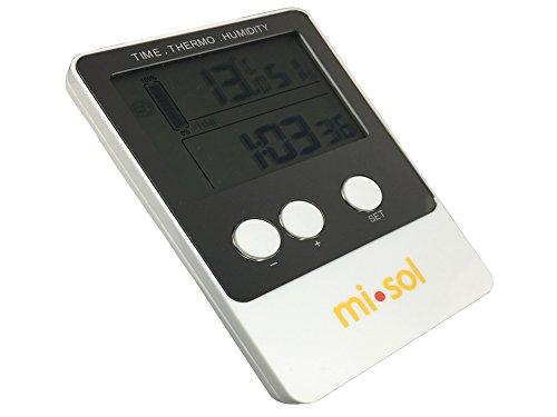 MISOL 1 PCS of Temperature humidity Data logger, USB Datalogger thermometer data record/Temperatur Luftfeuchtedatenlogger, USB-Datenlogger Thermometer Datensatz