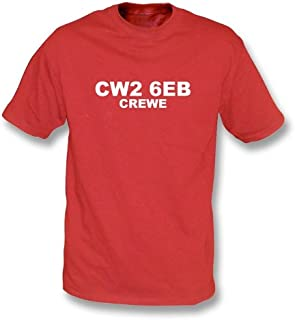 CW2 6EB Crewe T-Shirt Crewe Alexandra