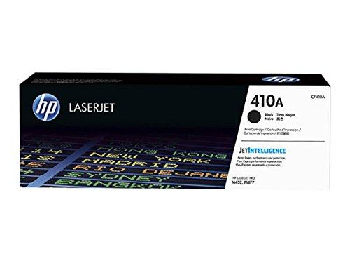HP Original–HP–Hewlett Packard Color LaserJet Pro M 452DW (410a/CF 410a)–Toner Negro–2.300páginas