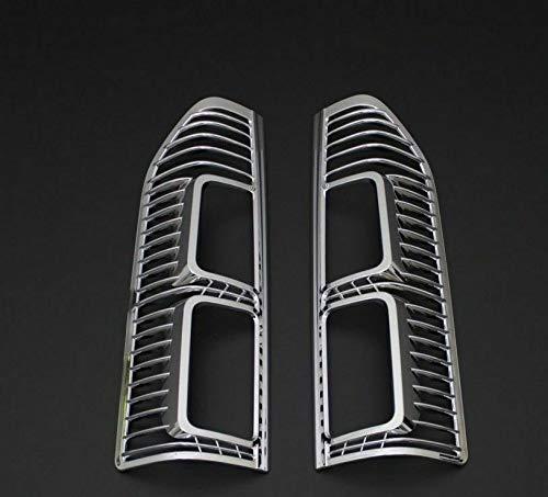Boa Line Auto - Cubierta de llanta de plástico ABS para lámpara trasera, compatible con Opel Vivaro 2015UP