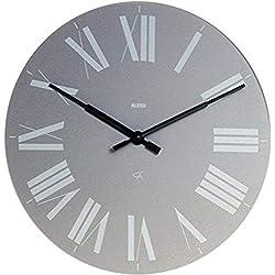 Alessi Aleesi 12 G Firenze Wall Clock, Gray