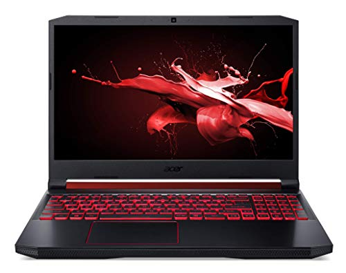 Acer Nitro 5 (AN515-43-R90F) 39,6 cm (15,6 Zoll 144Hz Full-HD IPS matt) Gaming Laptop (AMD Ryzen 5 3550H, 8 GB RAM, 512 GB PCIe SSD, AMD Radeon RX 560X, Win 10) Schwarz Aluminium