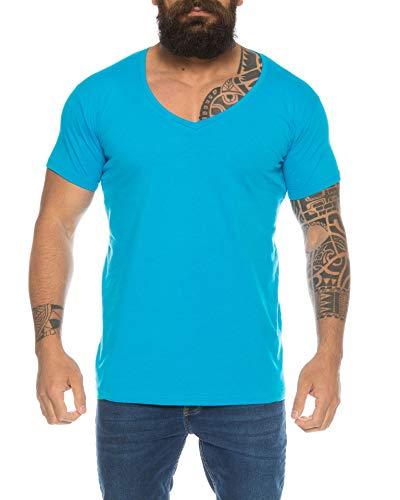 Camiseta de manga corta para hombre con cuello en V de un...