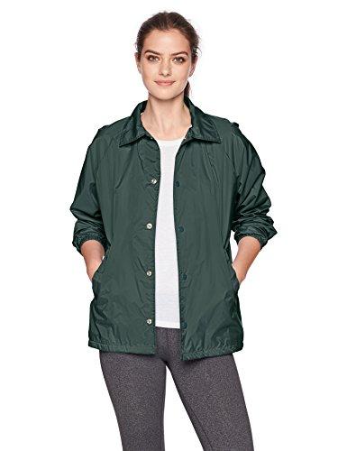 Augusta Sportswear Unisex Nylon Coach Jacke/liniert Größe L dunkelgrün
