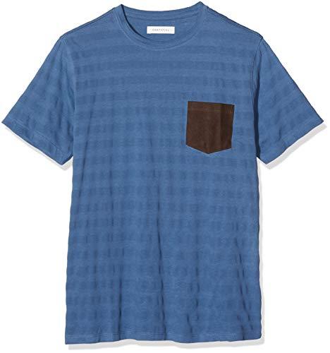 Cortefiel C4CC SPF B Ante Camiseta, Azul (Gama Azules 11), Medium (Tamaño del Fabricante:M) para Hombre