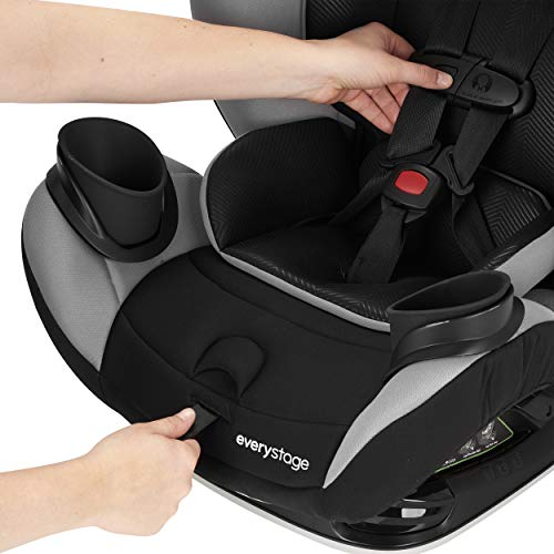 Evenflo EveryStage LX All-in-One Car Seat, Convertible Baby Seat, Convertible
