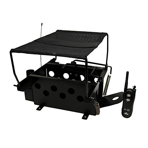 DT Systems Remote Bird Launcher for Quail and Pigeon Size Birds Black