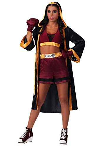Women's Tough Boxer Fancy Dress Costume X-Large