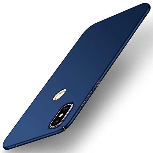 FanTings Capa para celular Xiaomi Mi Mix 2S, [ultrafina] [antiqueda] [sensação de seda] capa protetora PC rígida para Xiaomi Mi Mix 2S-azul