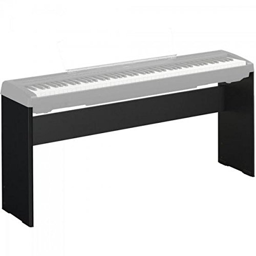 Yamaha L-85A, Supporto per Pianoforte Digitale, Design Resistente, Moderno ed Elegante, Compatibile con Pianoforte Digitale Yamaha P-45, Nero