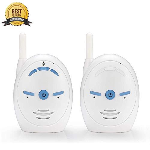Vigilabebes Audio, Monitor de Audio para Bebés Digital de Largo Alcance con...
