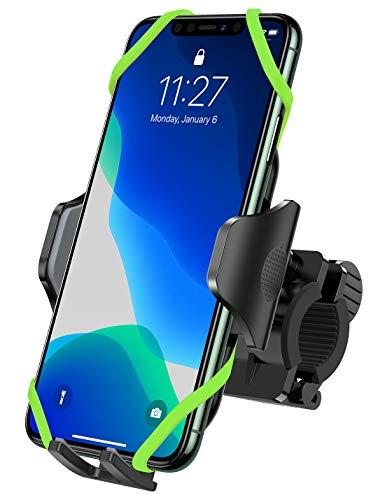 VICSEED Bike Phone Holder Universal Bike Phone Mount 360° Rotation Anti-Shake Phone Holder for Bicycle/Motorbike/Mountain Bike/Road Bike for iPhone Samsung Huawei Google
