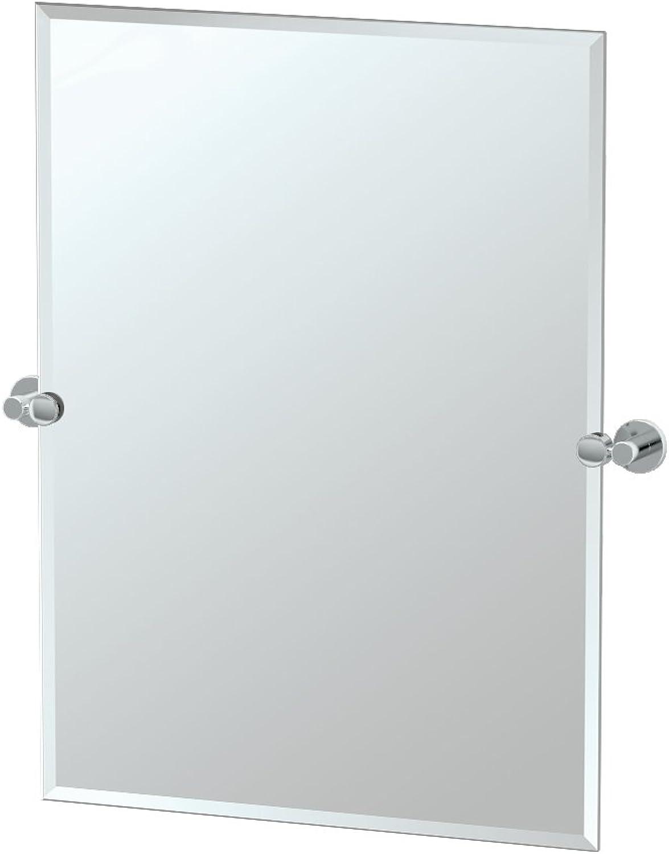 Gatco 4689S Channel Rectangle Mirror, Chrome