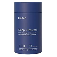 FALL ASLEEP AND STAY ASLEEP These aren't your standard sleeping pills. This is a sleep aid for adults that restores and resets your natural sleep cycle so you can fall asleep and maintain deep sleep. GOODBYE, GROGGY MORNINGS Sleep + Restore not only ...