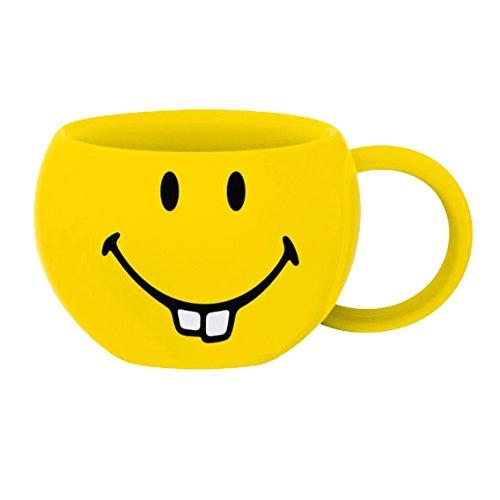 zak! Kaffee-Tasse Smiley-Hasenzähne 200ml, Porzellan, Mehrfarbig, 9.5 x 9.5 x 6 cm