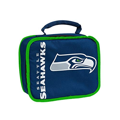 """NFL Seattle Seahawks """"Sacked"""" Lunch Kit, 10.5"""" x 8.5"""" x 4"""""""