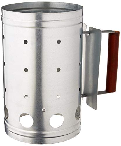 Outset Q110 Chimney Grill Starter, 1 EA, Silver