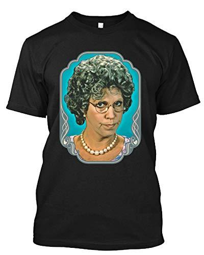 Mama's Family Thelma Harper Vicki Lawrence Carol Burnett 80er Jahre TV Retro T-Shirt Geschenk Tee für Männer Frauen Gr. 58, Schwarz