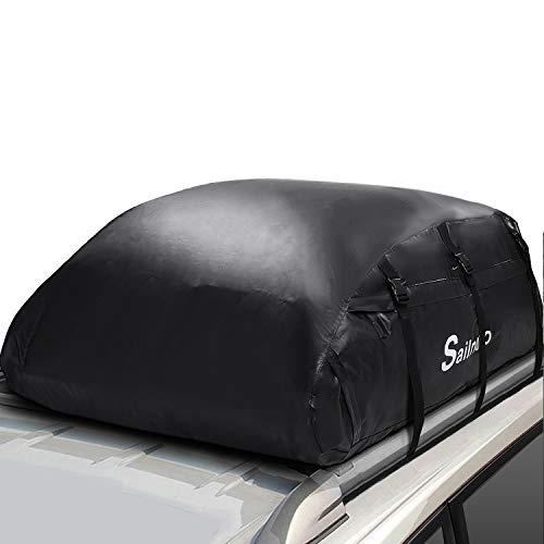 Sailnovo Borsa da Tetto Copertura Impermeabile Portapacchi per Auto 573 Litri Grande capacità Borsa Portapacchi Impermeabile Perfetto per Viaggi