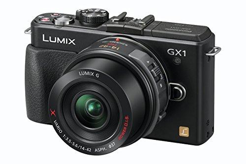Panasonic Lumix DMC-GX1EG-K ( 16.68 Megapixel (3 Zoll Display) )
