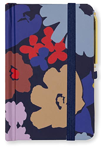 Kate Spade New York Mini Notebook With Pen, Swing Flora