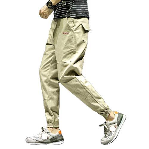 Pantalones para Hombre Pantalones de chándal Unisex Pantalones Deportivos para Gimnasia Ropa de Cintura Totalmente elástica Resistencia al Color sólido Trabajo de Combate de Carga