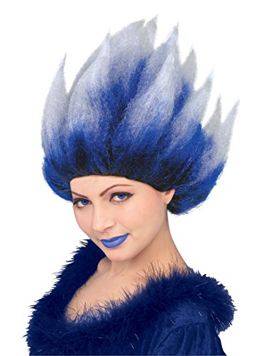 Fire N Ice Cool Blue Ice Queen Wig (Unisex)