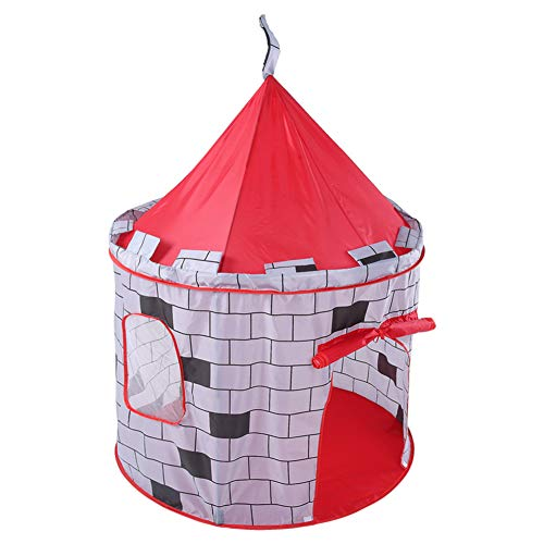 Prince Princess Castle Play Tent Portable Mongoolse Yurts Teepee Game House Boys Meisjes Speelgoed Playhouse Voor Indoor Outdoor Garden Beach
