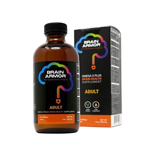 Brain Armor Adult Vegan Liquid Mango Lime, 240 ml