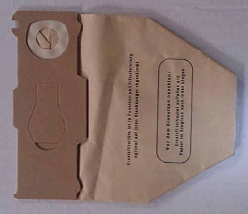 30 Staubsaugerbeutel   Staubbeutel aus 3-lagigem Papier   geeignet für Vorwerk Kobold 130 131   von Staubbeutel-Discount