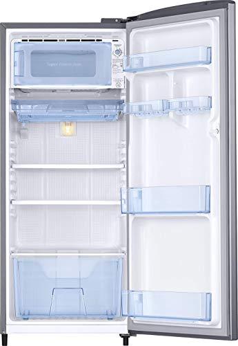 Samsung 192 L 3 Star Inverter Direct-Cool Single Door Refrigerator (RR20T172YS8/HL, Elegant Inox) 4