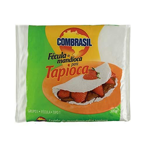 COMBRASIL Fécula de Mandioca para Tapioca 500g