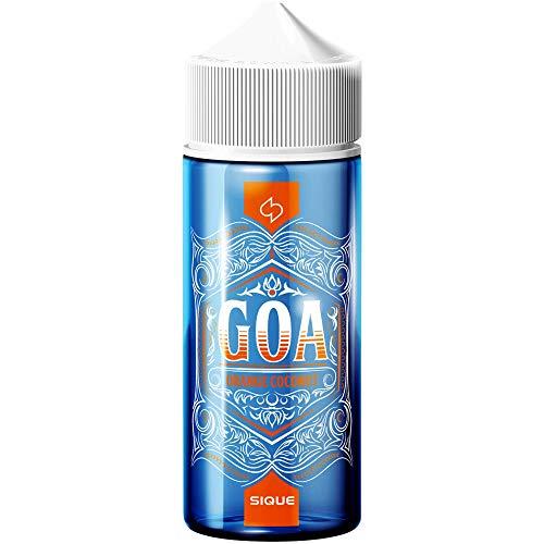 Sique GOA E-Liquid, Shake-and-Vape zum Mischen mit Base Liquid für e-Liquid Aroma Longfill, 0.0 mg Nikotin, 100 ml