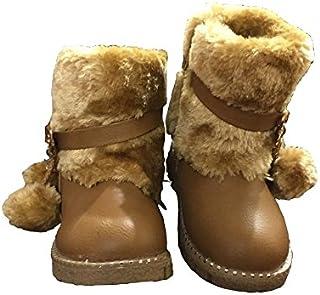 WTDESIGN Girls Slip on Casual Winter Boots