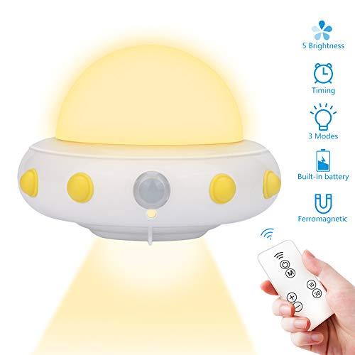 LED Nachtlicht Kinder Tragbare USB Aufladbare Nachtlampe Schranklicht für Das Lesen, Schlafen und Entspannen, Nachtleuchte Baby für Schlafzimmer, Babyzimmer, Gang