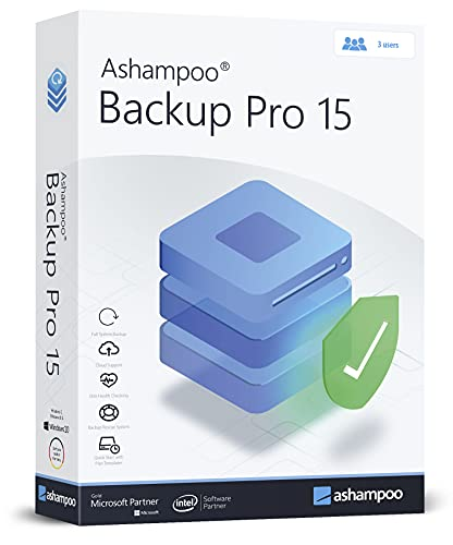 Backup Pro 15 - Full System Backup and more - Backup, rescue, restore for 3 Users - The backup solution for optimal security
