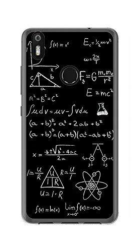 Tumundosmartphone Funda Gel TPU para BQ AQUARIS X/X Pro diseño Formulas Dibujos