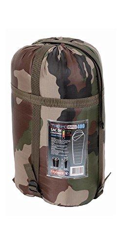 Saco de dormir Tempere Thermo Bag 400.Camping naturaleza, aire libre, militar, camuflaje.
