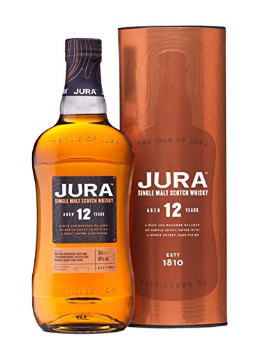 Hard To Find Whisky Jura 12 Years Old Single Malt...