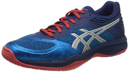 ASICS Herren 1051A002-400_44 Volleyball Shoe, Blue, EU