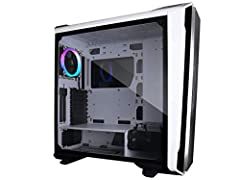 Full Tower Gaming Case Addressable RGB Duel Tempered Glass side window Liquid cooling ready ASUS Aura, MSI Mystic Sync