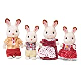 Calico Critters, Hopscotch Rabbit Family, Dolls, Doll House Figures, Collectible Toys (Toy)
