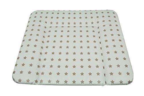 Asmi Wickelauflage Soft 75/85 cm Sterne Taupe