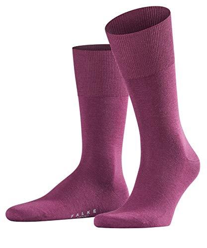 FALKE Herren Socken Airport, Merinowolle/Baumwollmischung, 1 Paar, Violett (Purple 8712), Größe: 43-44
